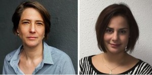 Alexandra Klusmann und Nadine Siracusa