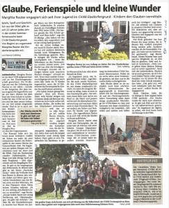 Oberhessische Presse vom 13. Juli 2016