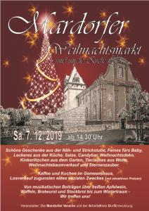 Mardorfer Weihnachtsmarkt rund um die Kirche @ Rund um die Kirche, Amöneburg-Mardorf